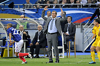 FOOTBALL - UEFA EURO 2012 - QUALIFYING - GROUP D - FRANCE v ROMANIA - 9/10/2010 - PHOTO JEAN MARIE HERVIO / DPPI - LAURENT BLANC (COACH FRANCE)