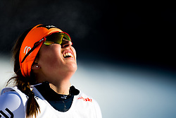 January 31, 2018 - Goms, SWITZERLAND - 180131 Tiril Udnes Weng of Norway after the women's 10km classic technique interval start during the FIS U23 Cross-Country World Ski Championships on January 31, 2018 in Obergoms..Photo: Vegard Wivestad GrÂ¿tt / BILDBYRN / kod VG / 170090 (Credit Image: © Vegard Wivestad Gr¯Tt/Bildbyran via ZUMA Press)