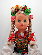 Bulgarian Doll on white background