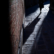 Walking path at end of day in Venice, Italy  (Leica 240 MP and 50 mm Summicron)