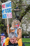 Our Future - It is estimated that over a million people joined the Put it to the People March from Park Lane to Parliament. Organised by the Peoples-Vote.UK to demand that, whatever deal is finally agreed, that it is put to the people to finally decide upon.