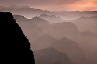 Sunrise at Copper Canyon, Mexico.