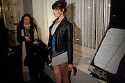 Gemma Arterton: , The Little Dog Laughed After party. Trafalgar Hotel. London. 20 January 2010