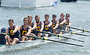 Henley. Great Britain.  University of California, Berkeley, USA  during the Sat pm. heat in the Ladies Challenge Plate   175th  Henley Royal Regatta, Henley Reach. England. 15:07:22  Friday  04/07/2014. [Mandatory Credit; Peter SPURRIER/Intersport-images]