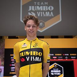 10-12-2019: Wielrennen: Teampresentatie Jumbo Visma: Amsterdam<br />Lars Boven