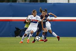 May 18, 2018 - Saint Germain En Laye, France - Amel Majri (OL) vs Eve Perisset  (Credit Image: © Panoramic via ZUMA Press)