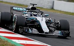 February 26, 2018 - Barcelona, Spain - Motorsports: FIA Formula One World Championship 2018, Test in Barcelona, #77 Valtteri Bottas (FIN, Mercedes AMG Petronas) (Credit Image: © Hoch Zwei via ZUMA Wire)