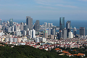 A view of the city of Qingdao, Shandong Province, China on 23 August 2012. Qingdao is recognized as one of the most livable cities in China.