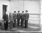 John A. Costello (Taoiseach) Visits Garda Depot, Phoenix Park.08/06/1954