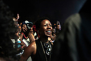 """August 27, 2016- Brooklyn, New York-United States: Audience attends the 2016 AfroPunk Brooklyn Concert Series held at Commodore Barry Park on August 27, 2016 in Brooklyn, New York City. Described by some as """"the most multicultural festival in the US,"""" which includes an eclectic line-up and an audience as diverse as the acts they come to see. (Photo by Terrence Jennings/terrencejennings.com)"""