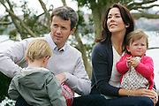 Crown Prince Frederik and Crown Princess Mary of Denmark and their children Prince Christian and Princess Isabella  at Government House, Sydney - Australia - 3rd Sep 2008. . An instant sale option is available where a price can be agreed on image useage size. Please contact me if this option is preferred.