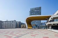 Austria Center Vienna (ACV), Mischek Tower, Wohnpark Donaucity, Österreich, Wien, Donaustadt, Kaisermühlen, Donaucity