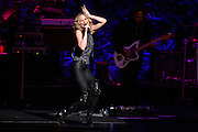 """Photos of Jennifer Nettles performing live on the """"CMT Presents Jennifer Nettles with 2016 Next Women of Country Tour"""" at Beacon Theatre, NYC on January 20, 2016. © Matthew Eisman/ Getty Images. All Rights Reserved"""