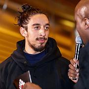 NLD/Almere/20190117 - Stare down van Boxing Influencers, Ismail Ilgun