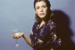 CARRIE FRANCES FISHER (October 21, 1956 - December 27, 2016) the actress best known as Star Wars' Princess Leia Organa, has died after suffering a heart attack. She was 60. Pictured: October 15, 1980 - New York, New York, U.S. - Carrie Fisher (Credit Image: © Lynn Goldsmith via ZUMA Press)