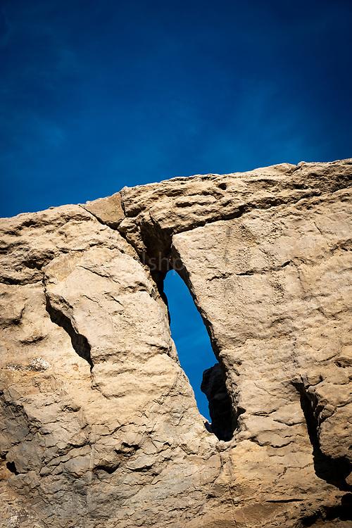 Costa Brava - Rock formations on Platja Gran de Pals, Catalonia, Spain
