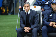 Brighton Manager, Chris Hughton during the Sky Bet Championship match between Brighton and Hove Albion and Middlesbrough at the American Express Community Stadium, Brighton and Hove, England on 19 December 2015. Photo by Phil Duncan.