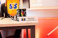 2017.07.04 Bialystok Pilka nozna Lotto Ekstraklasa sezon 2017/2018 STS – najwiekszy legalny bukmacher w Polsce – zawarl 2-letnia umowe z Jagiellonia Bialystok. Na jej mocy STS zostanie sponsorem glownym Jagiellonii . Logo STS znajdzie sie z przodu strojow klubowych N/z fot Michal Kosc / AGENCJA WSCHOD