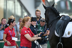 Sprehe, Kristina (GER), Desperados FRH<br /> Aachen - Europameisterschaften 2015<br /> Grand Prix de Dressage 2. Qualifikation<br /> © www.sportfotos-lafrentz.de/Stefan Lafrentz