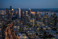Downtown Seattle & Interstate 5