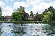 Maidenhead. Berkshire. United Kingdom. General view, JW4X.  racing at the 2017 Maidenhead Junior Regatta  River Thames. <br /> <br /> [©Peter SPURRIER/Intersport Images] Sunday. 14.05.2017