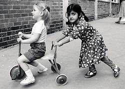 Claremont nursery school, Nottingham UK 1986