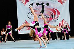 No Limit, Russia at European Cheerleading Championship 2011, on July 2, 2011, in SRC Stozice, Ljubljana, Slovenia (Photo by Matic Klansek Velej / Sportida)