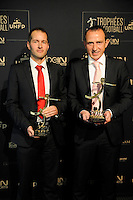 Stephane Jochem / Ruddy BUQUET - 17.05.2015 - Ceremonie des Trophees UNFP 2015<br />