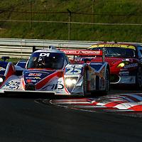 Erdos/Newton/Collins-RML Lola HPD Coupe (25); Fisichella/Vilander/Alesi- AF Corse Ferrari F430 GT (95), Le Mans Series 1000 Kilometres Hungaroring 2010