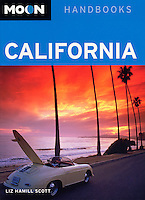 Moon travel guide cover-Montecito, California USA