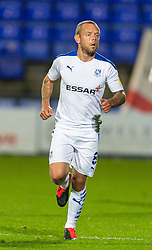 BIRKENHEAD, ENGLAND - Tuesday, September 29, 2020: Tranmere Rovers' Jay Spearing during the EFL Trophy Northern Group D match between Tranmere Rovers FC and Liverpool FC Under-21's at Prenton Park. Tranmere Rovers won 3-2. (Pic by David Rawcliffe/Propaganda)