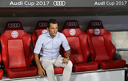 01.08.2017, Allianz Arena, Muenchen, GER, Audi Cup, FC Bayern Muenchen vs FC Liverpool, im Bild Neuer Sportdirektor beim FC Bayern Muenchen - Hasan Salihamidzic // during the Audi Cup Match between FC Bayern Muenchen and FC Liverpool at the Allianz Arena in Muenchen, Germany on 2017/08/01. EXPA Pictures © 2017, PhotoCredit: EXPA/ Sammy Minkoff<br /> <br /> *****ATTENTION - OUT of GER*****