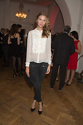 STINE MUNCH at a gala dinner to celebrate 15 Years of mothers2mothers hosted by Annie Lennox held at One Marylebone, 1 Marylebone Road, London NW1on 3rd November 2015.