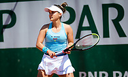 Lauren Davis of the United States during the first round of the Roland-Garros 2021, Grand Slam tennis tournament on May 30, 2021 at Roland-Garros stadium in Paris, France - Photo Rob Prange / Spain ProSportsImages / DPPI / ProSportsImages / DPPI