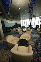 Launch of Royal Caribbean International's newest ship Allure of the Seas..Viking Crown Lounge.