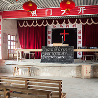 House churches are churches that are unregistered with the government therefore illegal. Protestants choose to attend house churches because they believe the government should not control religion, they want a more charismatic service, or are interested in a different interpretation of the Bible than what is offered at state-sanctioned churches. This churches are also called underground churches.