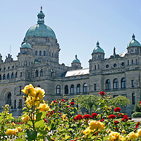 The Fairmont Empress Hotel in Victoria, British Columbia.