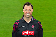 Head shot.  Marcus Trescothick wearing the Somerset Royal London One-Day Cup kit at the media day at Somerset County Cricket Club at the Cooper Associates County Ground, Taunton, United Kingdom on 11 April 2018. Picture by Graham Hunt.