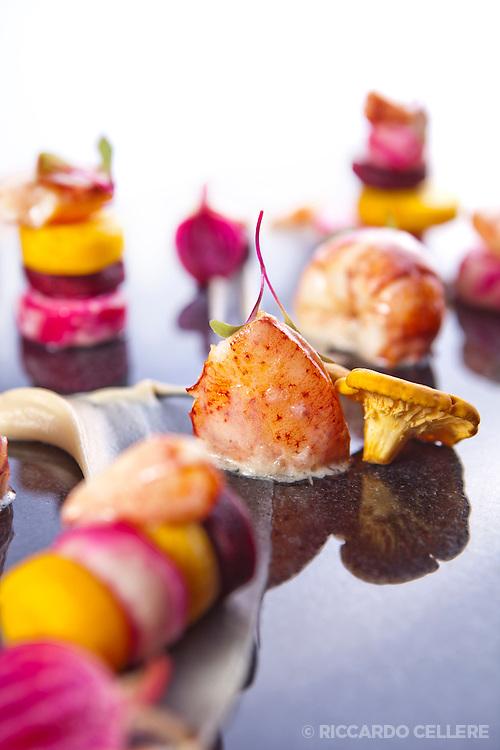 Food photography. Kaizen Sushi Bar, Montreal. Chef Noam Geladof. 2013.