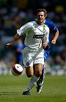 Photo: Jed Wee.<br /> Glasgow Celtic v Everton. Pre Season Friendly. 23/07/2006.<br /> <br /> Celtic's Maciej Zurawski chases down a through ball.
