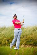 Rory McIlroy at the doomed Oakley shoot in Ireland