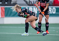 AMSTELVEEN -   Lauren Stam (Adam)    tijdens de hoofdklasse hockeywedstrijd dames, zonder publiek vanwege COVID-19, AMSTERDAM-SCHC (2-2). COPYRIGHT KOEN SUYK