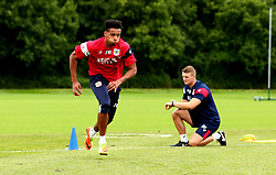 Jojo Wollacott is put though his paces as Bristol City return to training ahead of their 2017/18 Sky Bet Championship campaign - Mandatory by-line: Robbie Stephenson/JMP - 30/06/2017 - FOOTBALL - Failand Training Ground - Bristol, United Kingdom - Bristol City Pre Season Training - Sky Bet Championship