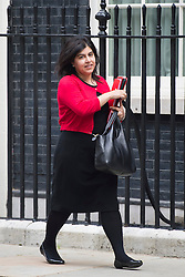 © London News Pictures. 09/06/2014. London, UK.  Minister of State for Faith and Communities, BARONESS WARSI, arriving at 10 Downing Street on June 9, 2014. Photo credit : Ben Cawthra/LNP