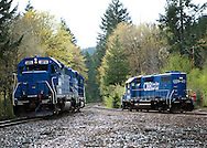 Coos Bay Rail at Vaughn