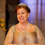 NLD/Amsterdam/20130429- Afscheidsdiner Konining Beatrix Rijksmuseum, princess Christina