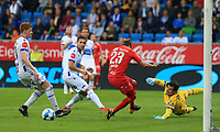 Fotball , 15. juni 2019 , Eliteserien,<br />Haugesund - Brann Bergen<br />Kristoffer Løkberg Brann Bergen i aksjon mot Haugesund.<br />Foto: Andrew Halseid Budd , Digitalsport