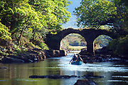 The Old Weir Bridge in Killarney National Park in County Kerry Ireland.<br /> Picture by Don MacMonagle -macmonagle.com