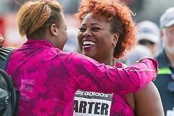 Michelle Carter, USA, women's shot put, adidas Grand Prix Diamond League track and field meet