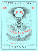 Punch, Christmas Number and Punch's Almanack 1893 (front cover)